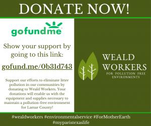 Weald Workers Donate